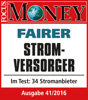 Focus Money Test Stromanbieter: Fairer Stromversorger